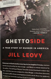 Book cover to Ghettoside: A True Story of Murder in America by Jill Leovy
