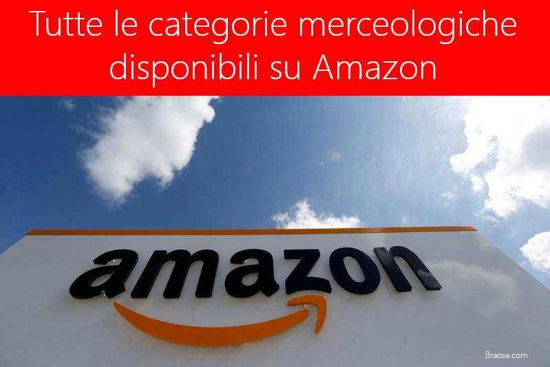 Categorie Merceologiche Amazon