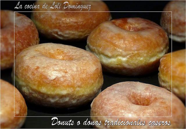 Donuts O Donas Tradicionales Caseros