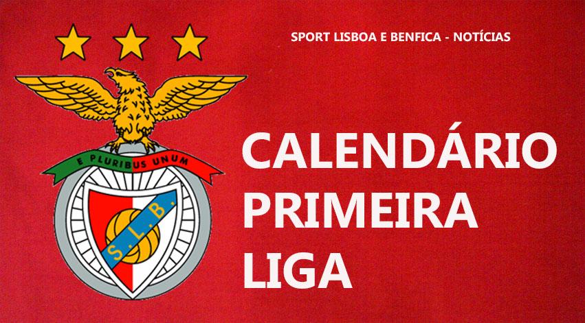 Calendario Primeira Liga.Calendario Primeira Liga Do Sl Benfica E Golo