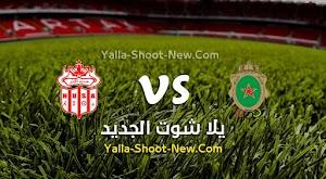 التعادل الاجابي يحسم مباراة الجيش الملكي وحسنية اكادير في الدوري المغربي