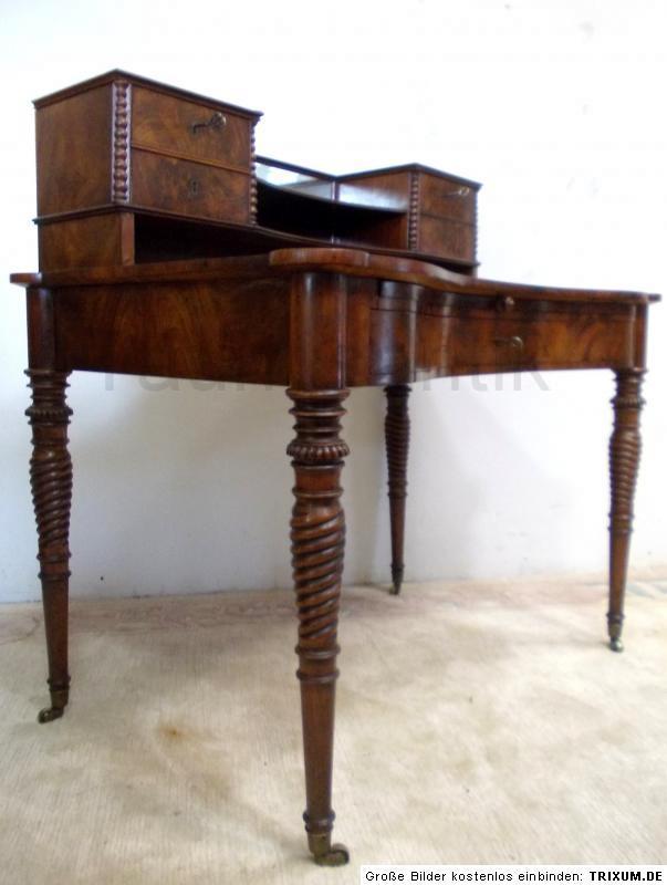 designer antik m bel antik schreibtisch damenschreibtisch sekret r seltenes st ck. Black Bedroom Furniture Sets. Home Design Ideas