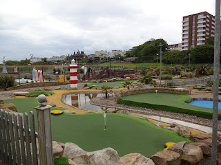 Championship Adventure Golf course in New Brighton