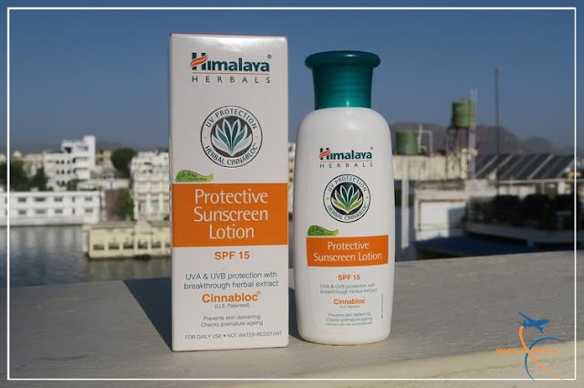 Protective Sunscreen Lotion Himalaya Protective Sunscreen Lotion  SPF 15