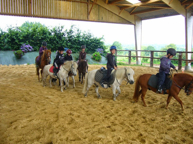 Horse riding in Normandy