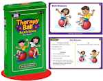 http://theplayfulotter.blogspot.com/2015/04/therapy-ball-activities-fun-deck.html