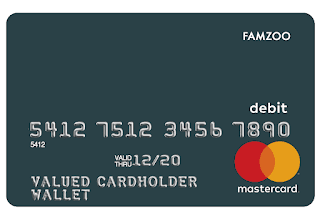 Minimalist FamZoo card design