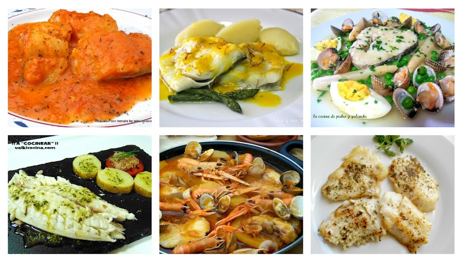 6 recetas de pescado para disfrutat
