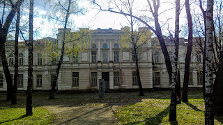 Миргород. Бывшая мужская гимназия 1908-1910 г.г.