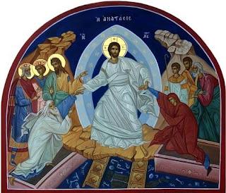 Explicare icoana Învierii Domnului