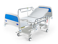 LOCKABLE GAS SPRING FOR HOSPITAL BED