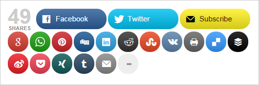 social media sharing plugin