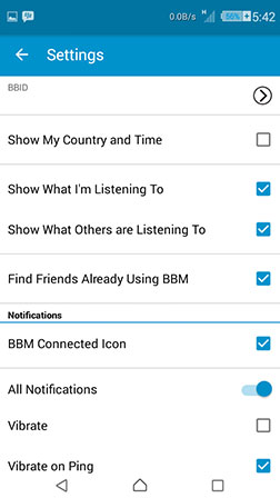 blackberry messenger apk terbaru