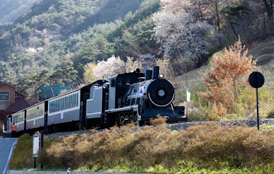 Seomjin River Train Village