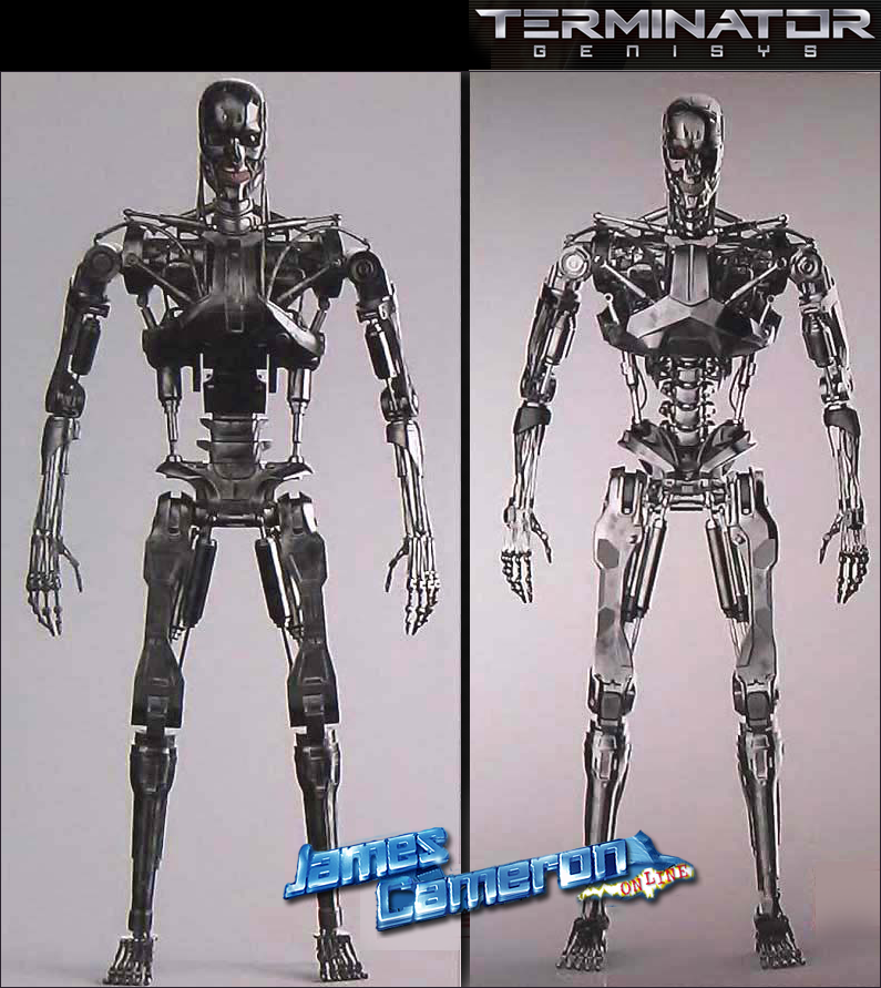 Downfall Of Terminator  The Design Changes On The Endoskeleton