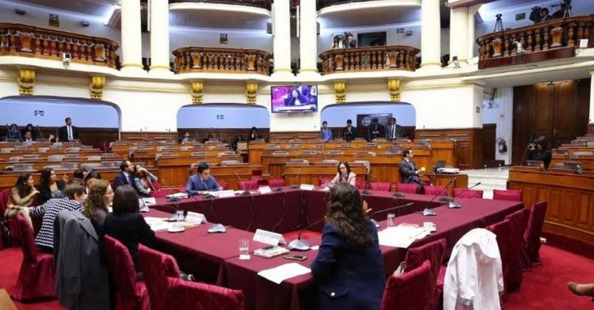 Congreso aprueba propuesta de reforma constitucional del art. 113 de la Constitución Política del Perú