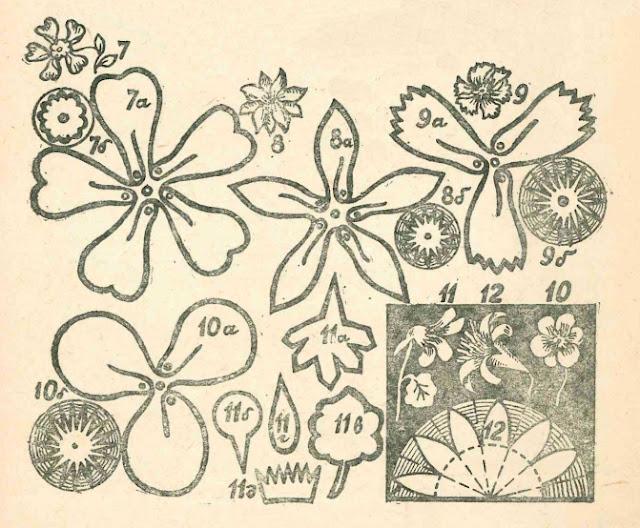 Гирлянда из бумажный цветов