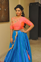 Nithya Shetty in Orange Choli at Kalamandir Foundation 7th anniversary Celebrations ~  Actress Galleries 084.JPG
