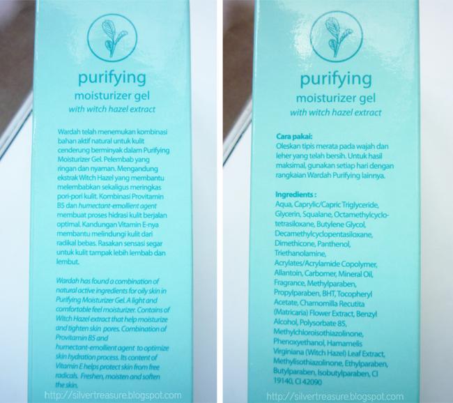 Wardah Purifying Moisturizer Gel For Oily Skin