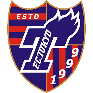 F.C. Tokyo FC東京 logo 512x512 px