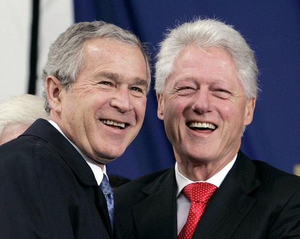 Família Bush: falsos conservadores
