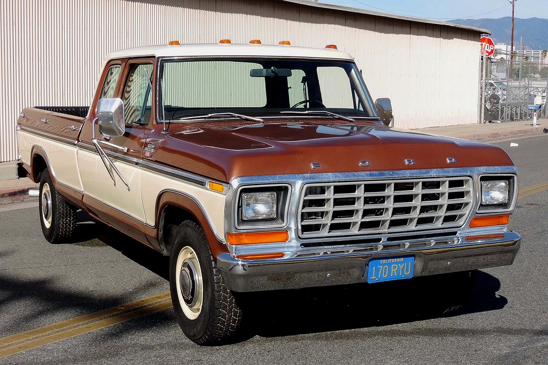 1978 Ford F350 Ranger Xlt Pick Up Truck 1977 Sales Brochure Chevrolet Camaro