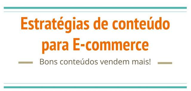 Estratégia de conteúdo para ecommerce e SEO para ecommerce aumentar as vendas