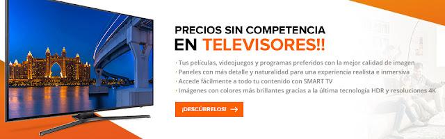 Top 5 ofertas Precios sin competencia en televisores de PCComponentes