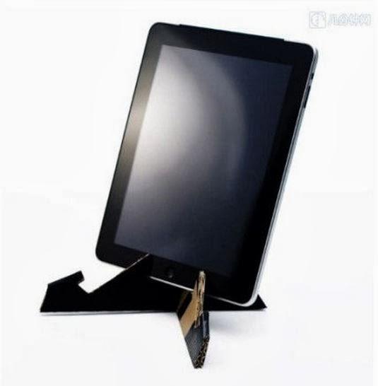 DIY Cardboard Tablet Stand - The Idea King