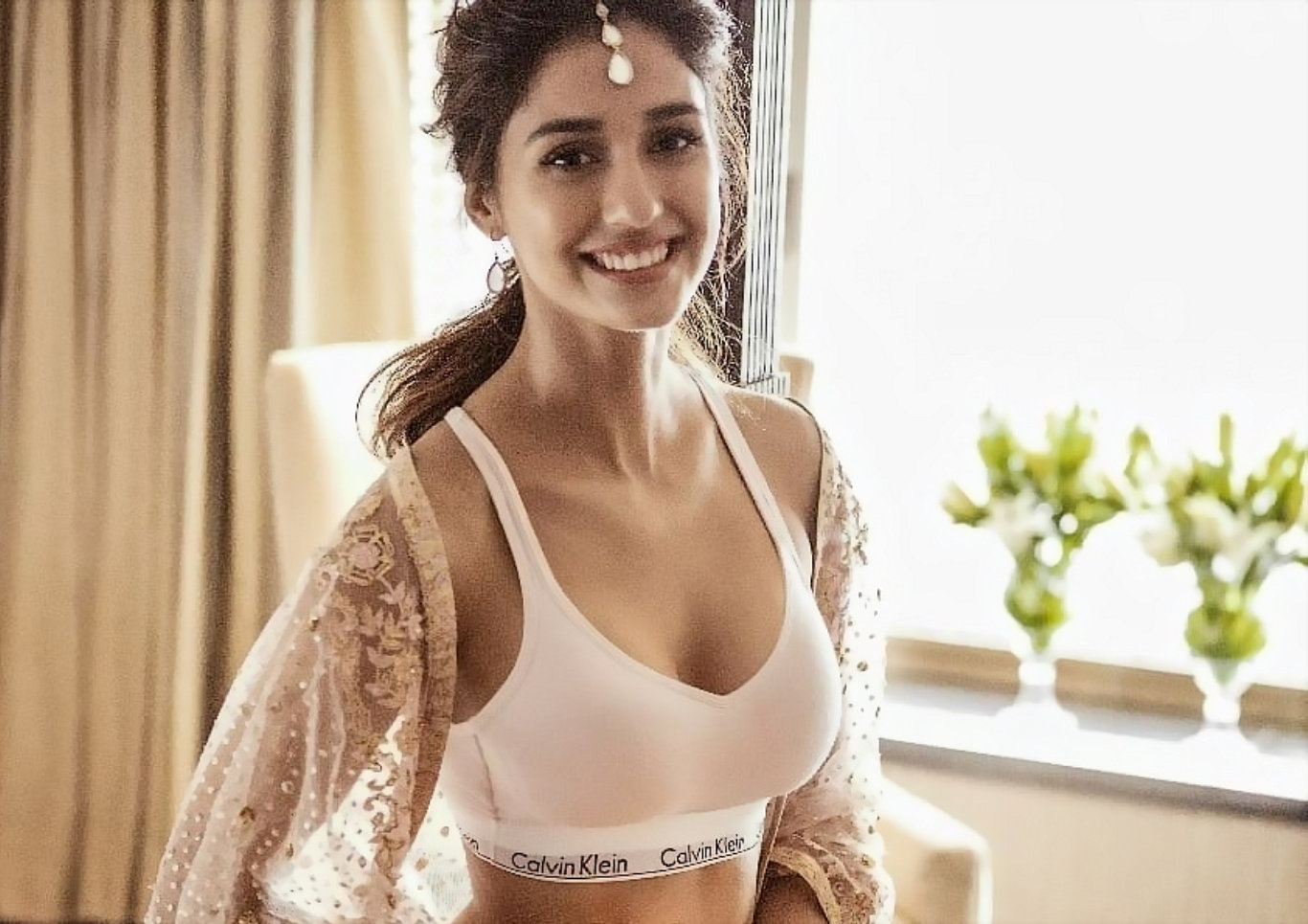 Disha Patani Sports Bikini Hot Wallpaper