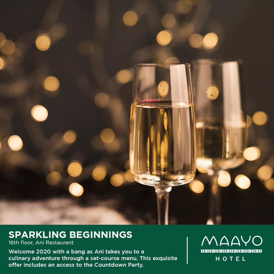 Welcome 2020 with a Bang at Maayo Hotel