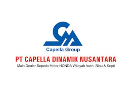 Lowongan PT. Capella Dinamik Nusantara Pekanbaru Desember 2018