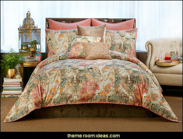 exotic bedroom decorating ideas - exotic global style decorating - exotic decor - exotic style furnishings - tropical theme decorating - Moroccan style  Arabian nights - Egyptian theme decorating - Oriental bedrooms - global bazaar themed  - I dream of Jeannie theme bedrooms - exotic design far east furnishings Exotic bedroom decor‎ - Ethnic style decorating ideas - Ethnic style furnishings - Boho style