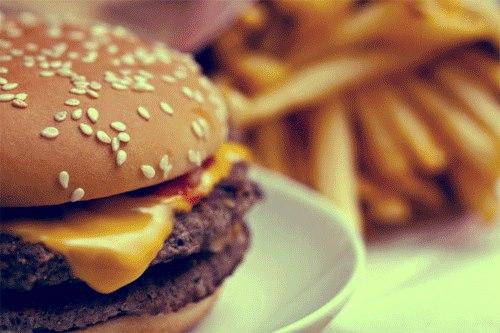 Quando anche il caffe` sa di hamburger...