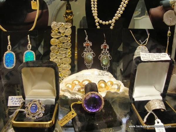 jewelery at Antique Warehouse in Cedros Design District in Solana Beach, California