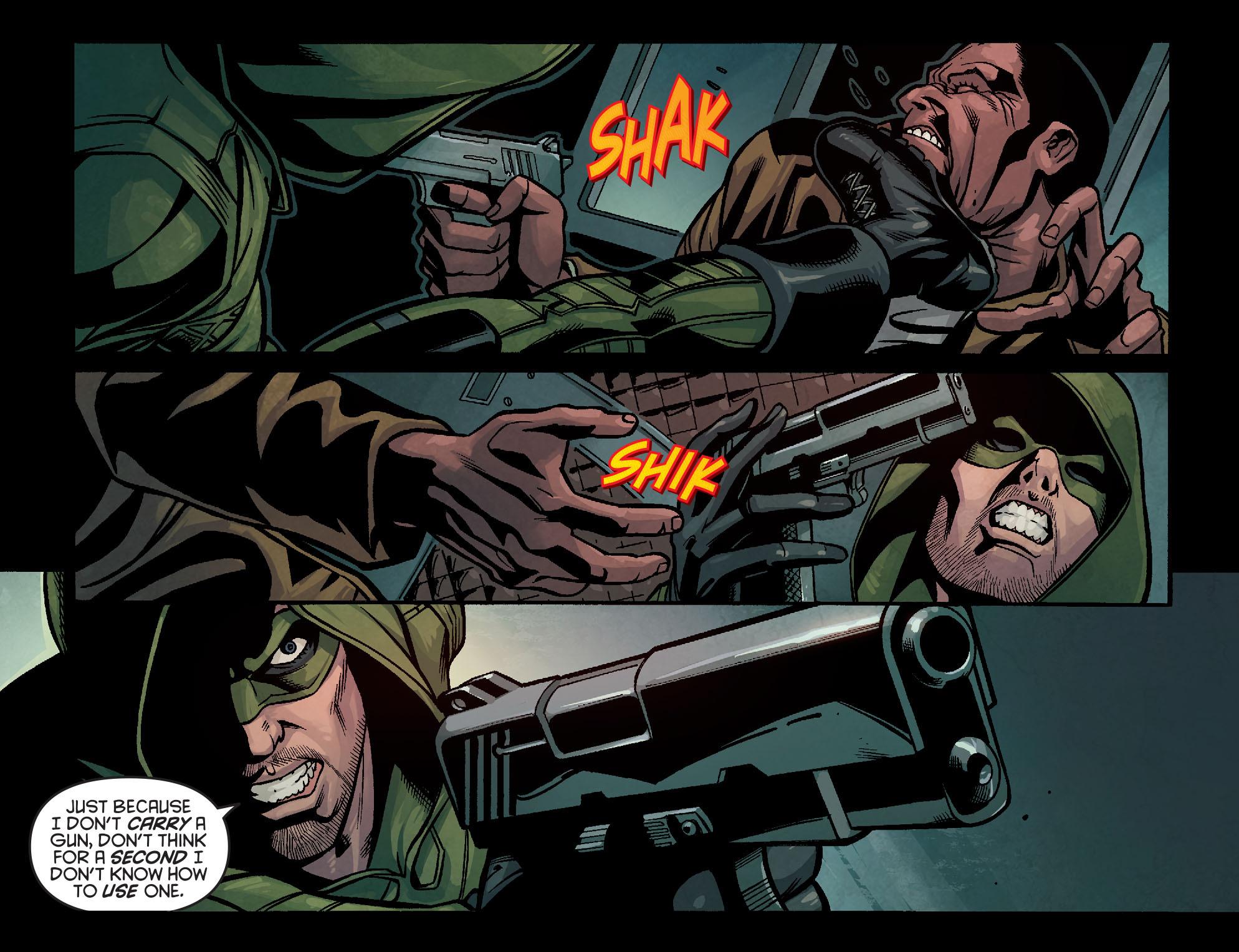 Read online Arrow: Season 2.5 [I] comic -  Issue #14 - 5