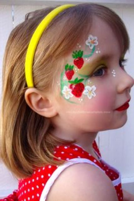 Easy quick face painting ideas