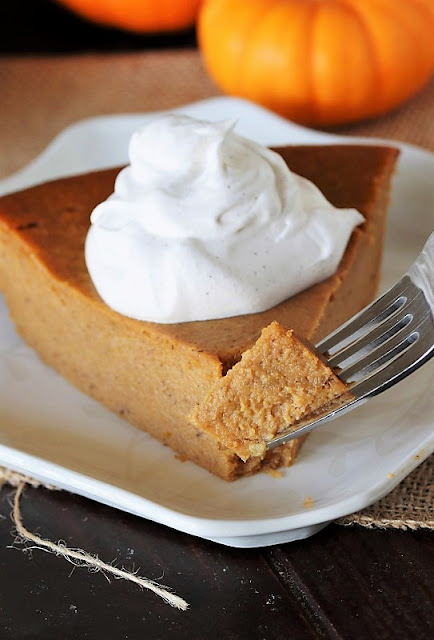 A Bite of Impossible Pumpkin Pie Image