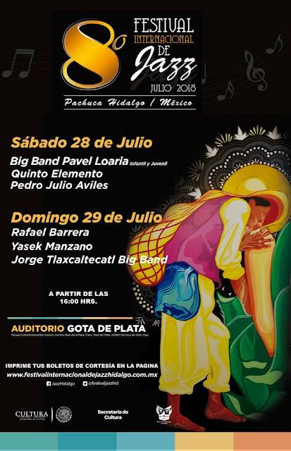 festival de jazz pachuca hidalgo 2018
