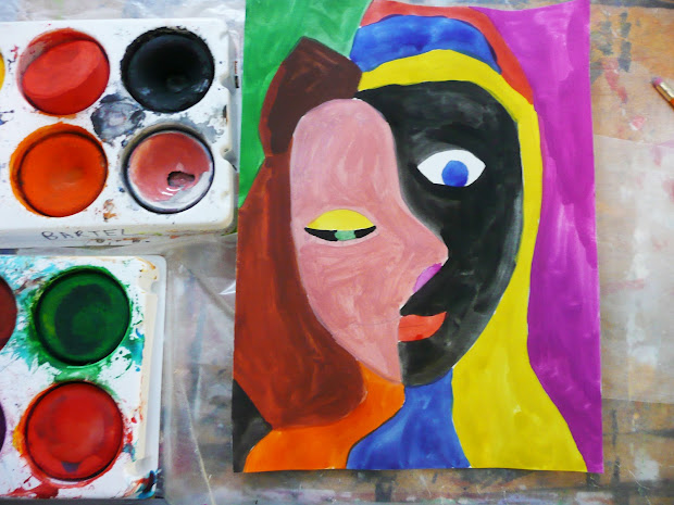 Picasso Style Portraits