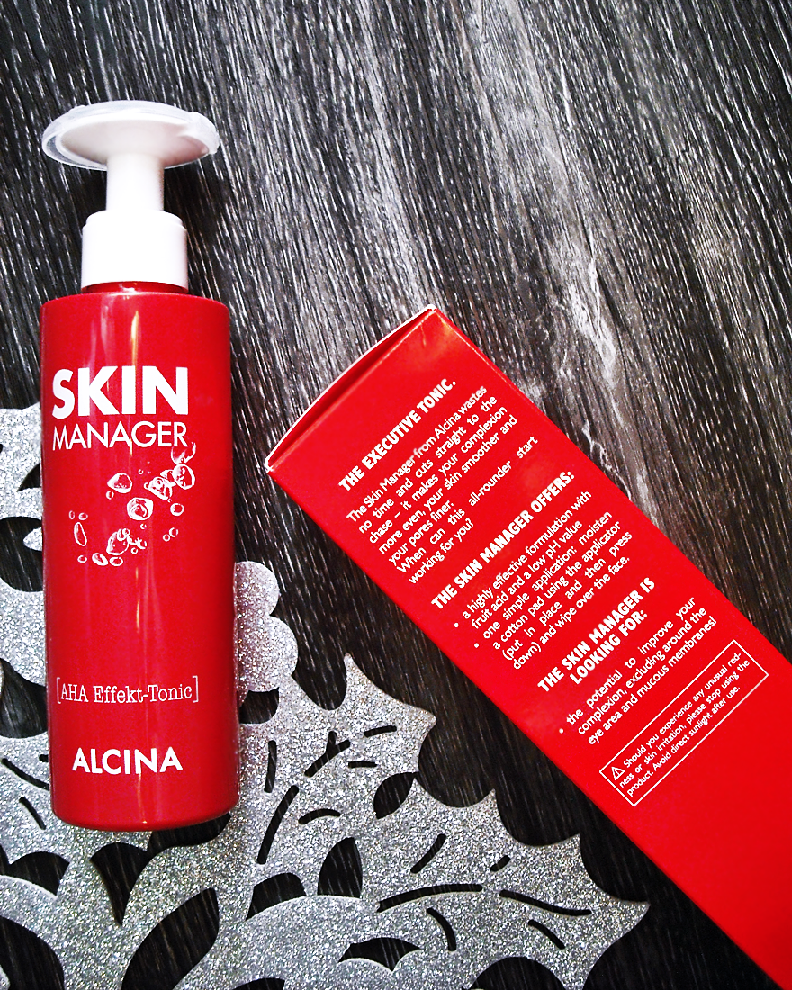 Alcina Skin Manager AHA tonic - pareri - review