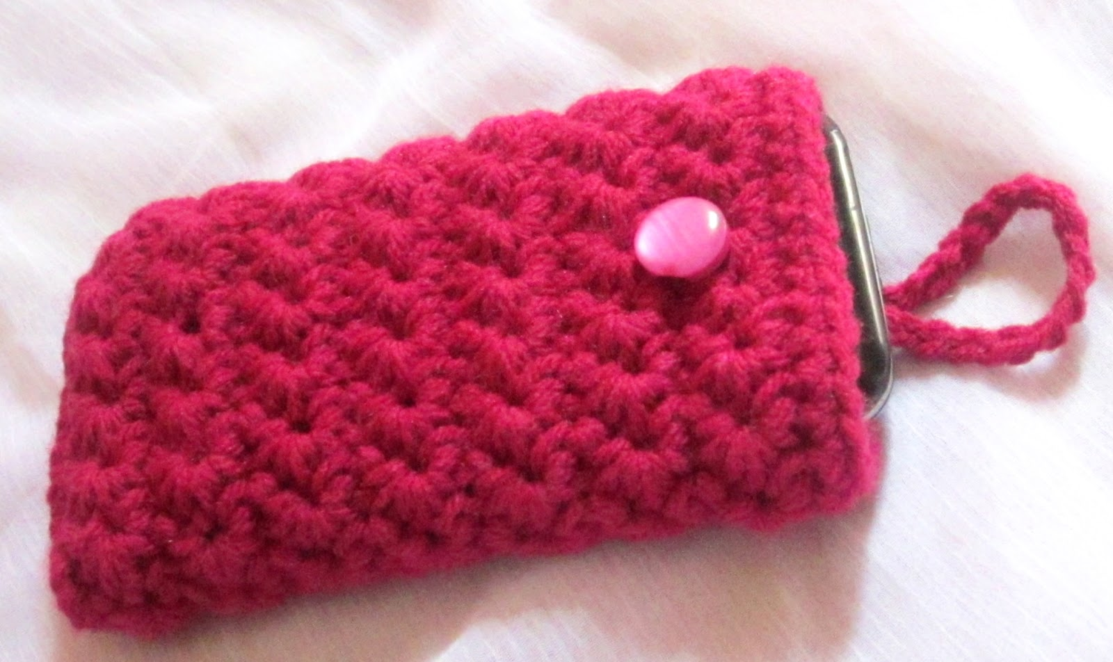 Crochet Cell Phone Case A Little Love Everyday