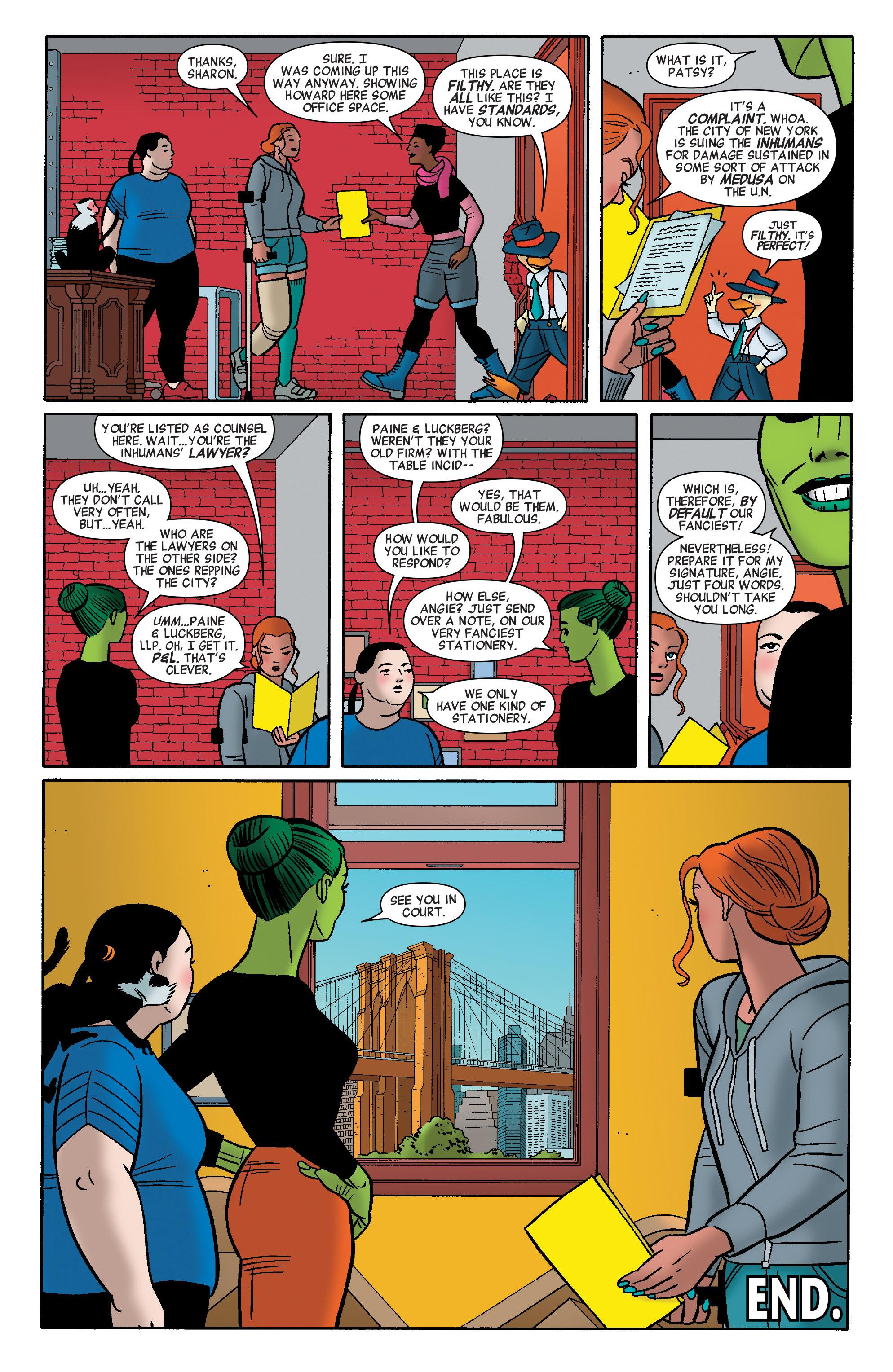 Read online She-Hulk (2014) comic -  Issue #12 - 20