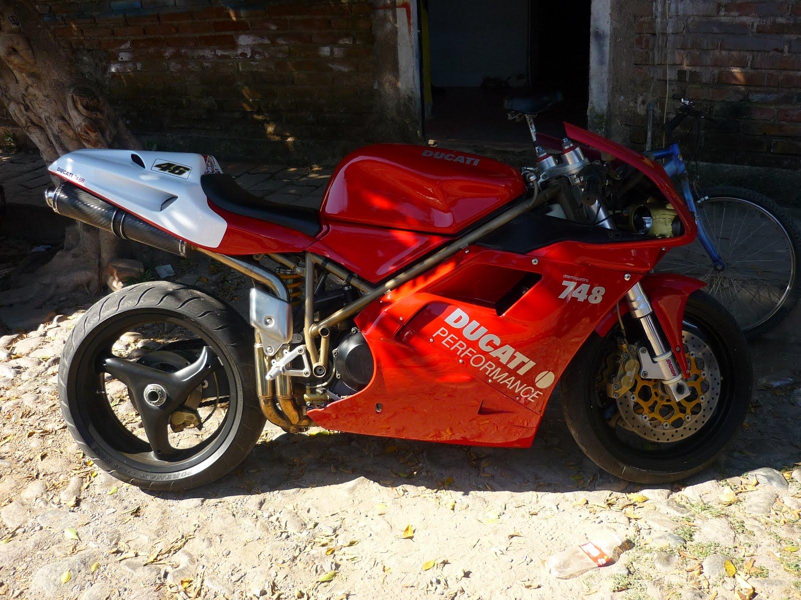 Impresionarte Publicidad Kit Calcas Ducati 748