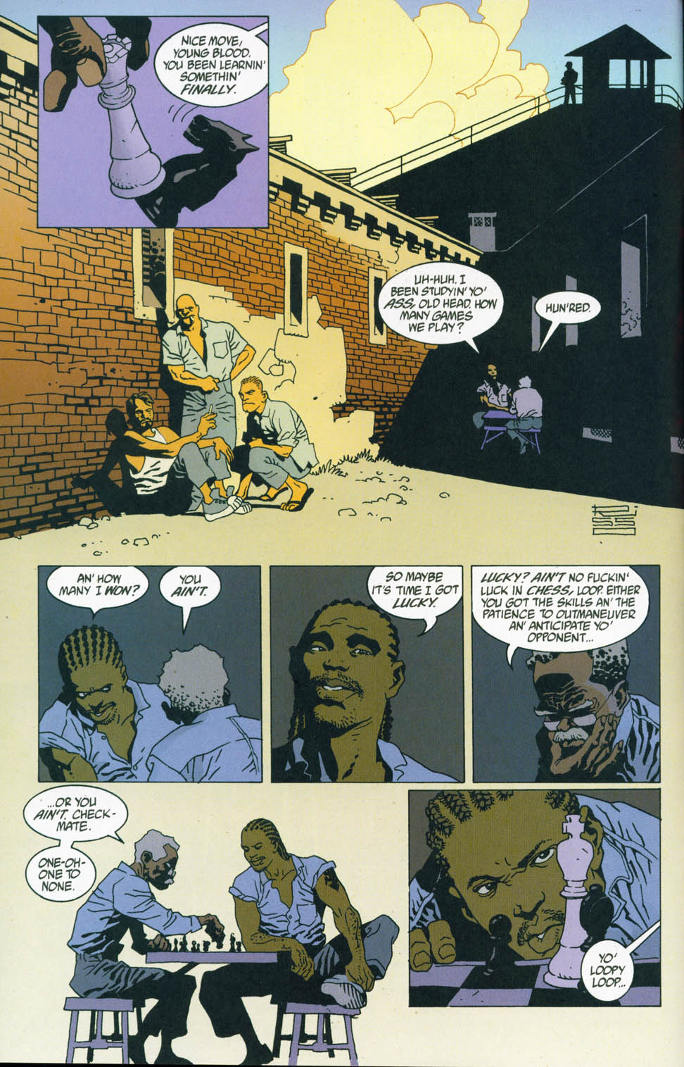 Read online 100 Bullets comic -  Issue #45 - 6