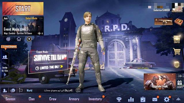 PUBG Mobile Game thủ chính thức được chơi chế độ Zombie từ 12h ngày 19/2