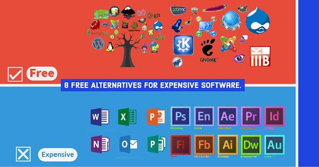8 Free Alternatives For Expensive Software 2018
