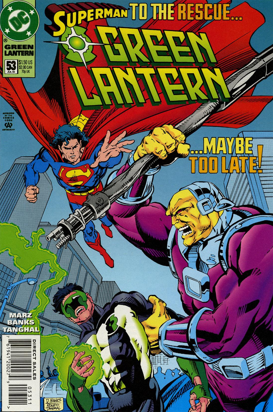 Green Lantern (1990) 53 Page 1