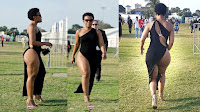 Notorious South African socialite, ZODWA WABANTU, deported from Zambia for not wearing under-garment (PHOTOs)