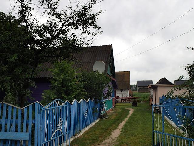 Na Ukrainie domy na wsi wyglądają zupełnie inaczej, niż w Polsce